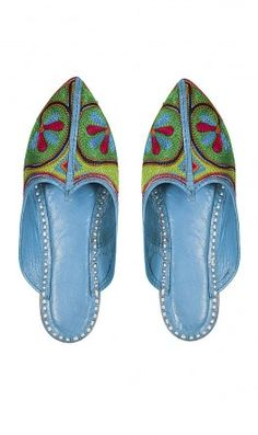 For hosting dinner parties, comfy ornate slippers.