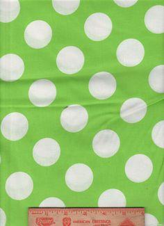 Retro Peace Symbols Polka Dots Colors Black Cotton Fabric FQ OOP