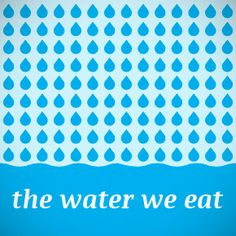 Virtual Water - Discover how much WATER we EAT everyday - this is an interactive infographic Interactive Infographic, Creative Infographic, Infographics, Water Issues, World Water Day, Information Design, Water Quality, Apps, We Are The World
