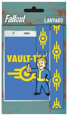 Fallout 4 Vault Tec Lanyard
