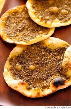 many different flatbread recipes, including Turkish meat bread