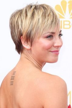 Kaley Cuoco-Sweeting pixie cut - Google Search