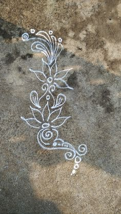 Simple rangoli design                                                                                                                                                                                 More