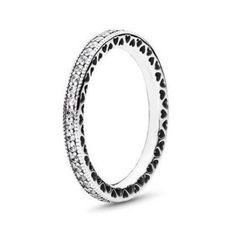 New Pandora Sparkle & Hearts CZ Ring on Mercari Pandora Rings Rose, Pandora Sterling Silver Rings, Pandora Hearts, Pandora Bracelets, Pandora Jewelry, Charm Jewelry, New Pandora, Cubic Zirconia Rings, Heart Ring