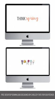 Think Spring Desktop Downloads - Eighteen25