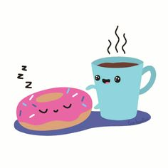 Imagen de sweets, coffee, and donuts