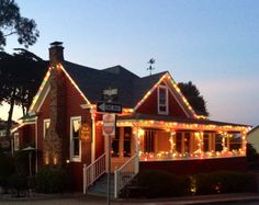 Happy Holiday Season from Red House Café! Please allow us to give you a COZY LITTLE CHRISTMAS Season!   Come see us!www.facebook.com/redhousecafepacificgrove