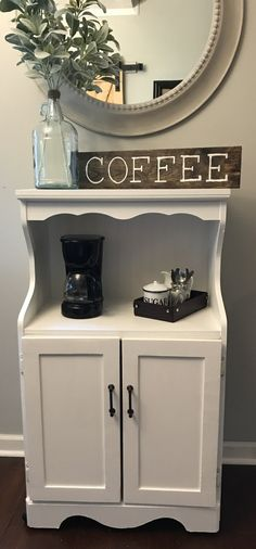 Coffee Bar And Microwave Stand. DIY Projects: Build Your Own Black Pipe Coffee Bar Station . Home Furniture Kitchen Shelves Small Appliances Microwave . Home and furniture ideas is here Bar Furniture For Sale, Diy Furniture Building, Furniture Ideas, Furniture Stores, Cheap Furniture, Furniture Removal, Furniture Redo, Furniture Design, Microwave Stand