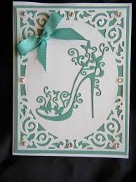 Cheap card card, Buy Quality card die cutting directly from China cards diy Suppliers: Metal Stencils Template High-heeled Shoes Cutting Dies DIY Scrapbooking Photo Album Decorative Embossing Folder Paper Cards 18th Birthday Cards, Birthday Cards For Women, Handmade Birthday Cards, Greeting Cards Handmade, Happy Birthday, 50th Birthday, Birthday Woman, Birthday Crafts, Cards Diy