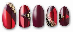 DASHING DIVA GET THE LOOK NAIL APPLIQUES RED DUCHESS NAIL WRAPS in Health & Beauty, Nail Care, Manicure & Pedicure, Nail Polish | eBay