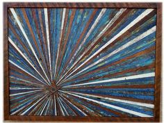 Rustic Reclaimed Wood Wall Hanging Art by AlleyCatDesignSt on Etsy