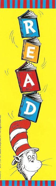 Dr. Seuss Bookmark - dr-seuss photo