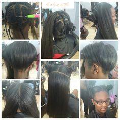 Vixen crochet with braiding hair Kinky Curly Hair, Curly Hair Styles, Natural Hair Styles, Crochet Braid Styles, Braids With Weave, Hair Laid, Girls Braids, Weave Hairstyles, Modern Hairstyles