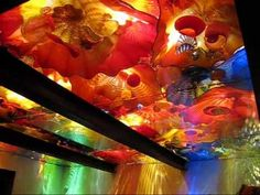 Dale Chihuly exhibit at the MFA Boston