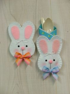 Bunny Gift Card/Silverware Holder/Treat Bag