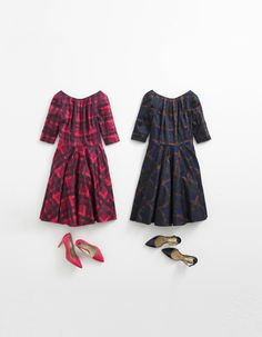 A fabulously flippy fifties number. Shop with 15% off and free delivery with code PIN1 (UK) or PIN2 (US) #Boden #AW14