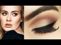 Adele Makeup Tutorial - Maquiagem Diva com Delineado Poder e Naked Smoky