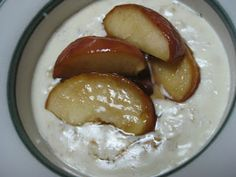 caramelized apple Porridge in the Thermomix | Becs Table