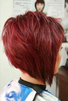 high stacked bob - Google Search