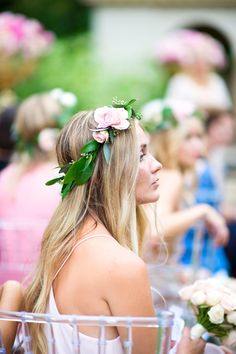 Flower Crown Inspo, Angle 2