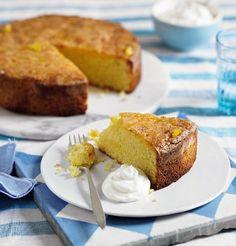 Gluten-free citrus polenta cake from Clean and Lean Diet Plan.
