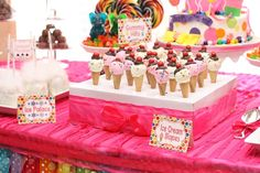 Candy Land Themed Birthday Party