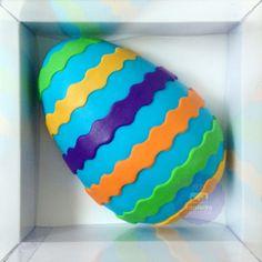 Bolo ovo de páscoa by Confeito Secreto