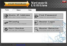 port forward network utilities online free