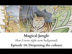 Magical Jungle - How I create nightscene backgrounds - Episode 10 - YouTube