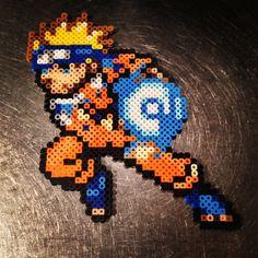 Naruto perler beads by yeskaramia