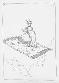 Flying Carpet Sweeper.