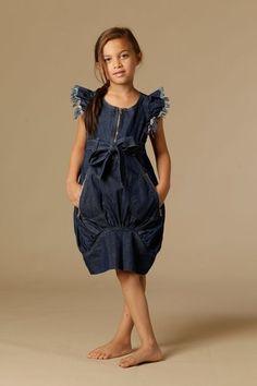 Adorable Denim Dress.