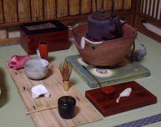 茶箱の月点前 Chabako, Tsuki temae