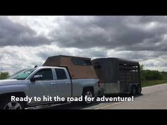 DIY Wood Truck Cap Camper - YouTube Truck Cap Camper, Truck Bed Caps, Diy Wood, Van Life, Recreational Vehicles, Trucks, Camper Ideas, Youtube, Camping
