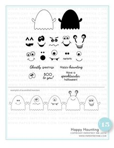 Happy-Haunting Papertrey ink...I want this set!!!