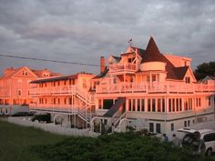 Ocean Park, Maine.  The Billowhouse.  Can't wait for our 11th year in a row there this summer!