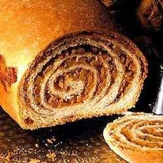 Homemade potica or povitica is a delicious treat for breakfast or dessert. It also make s a wonderful gift. Here is an easy recipe for potica bread. Croatian Recipes, Hungarian Recipes, Bosnian Recipes, Potica Bread Recipe, Walnut Potica Recipe, Walnut Bread Recipe, Bread Recipes, Cooking Recipes, Cooking