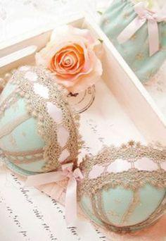 Beautiful lace underwear set ✿⊱╮