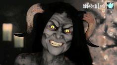 Krampus/Christmas Demon Makeup Tutorial