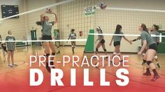 Jumpstart training sessions with pre-practice drills