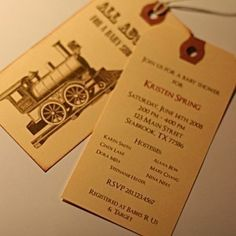 Free Printable  Customizable Train Ticket Invitation  Perfect