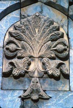 A masterpiece of Seljuk architecture - Gok Medrese (1271), Sivas, Turkey. Photo credit - University of Hawaii, via Flickr. Photos were taken by Tom Klobe in 1971