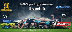 Round 10 Super Rugby Aotearoa 2020 Live Stream #Highlanders #Hurricanes #Blues #Crusaders Red Force, Super Rugby, Blues, Highlanders, Crusaders, Live