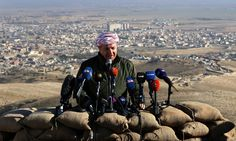 Iraqi Kurdistan president: time has come to redraw Middle East boundaries | World news | The Guardian