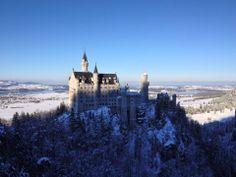 #Schloss #Neuschwandstein #Deutschland