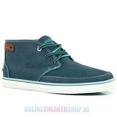 eecf47ceb0146 Lacoste Footwear Clavel Blue - Men s Shoes - Onlinesneakershop.nl http   www