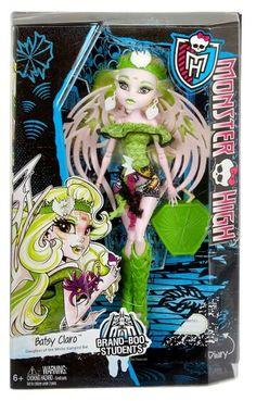 Batsy Claro - Brand Boo Students - New Monster High doll