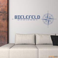 "Wandtattoo ""Stadt Bielefeld"" - 19,95€"