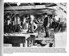 Chivers carpentry shop, Devizes 1897