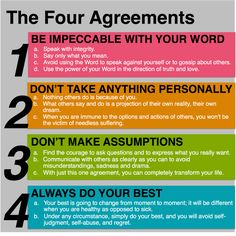 The Four Agreements - Simple and Stoic! : Stoicism